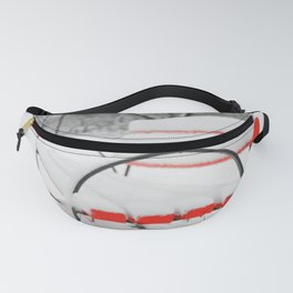 Red Bench Fanny Pack