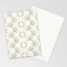 Garden Floral Chain Stationery Cards