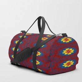Geometric pattern Duffle Bag