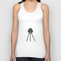 camera Tank Tops featuring Camera by Suchita Isaac