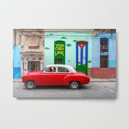 Cuba Libre II Metal Print