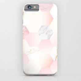 marble (Delightful color) iPhone Case