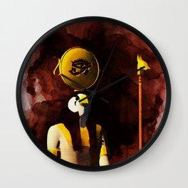 Horus - God of Egypt Wall Clock