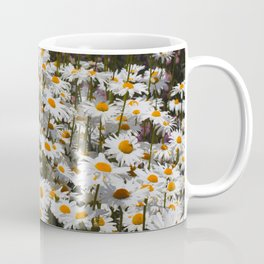 A Field of Oxeye Daisies Coffee Mug