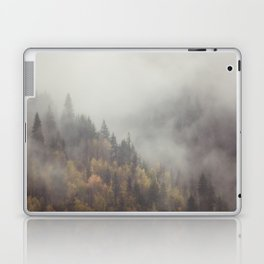 Foggy Elephant Mountain Laptop & iPad Skin