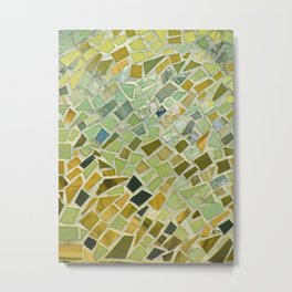 Bright n Sunshiny Day Mosaic Metal Print
