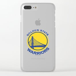 Golden State Wariors Clear iPhone Case
