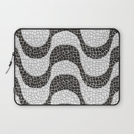 Copacabana sidewalk Laptop Sleeve