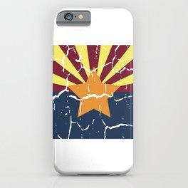 Arizona Phoenix USA Flag City Sign Gift iPhone Case