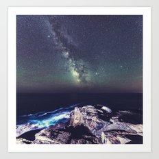 Galactic Shoreline Art Print