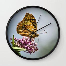Butterfly II Wall Clock