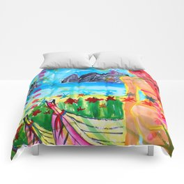 Koh pipi island in Thailand Comforters