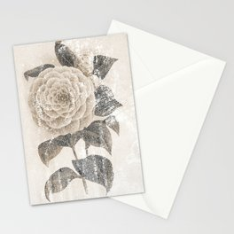 Vintage Camellia Stationery Cards