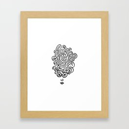 so you want to read? Framed Art Print