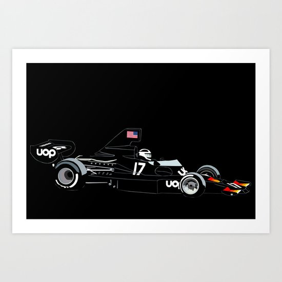 Shadow DN7 Art Print