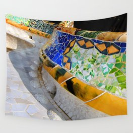 Gaudi Series - Parc Güell No. 1 Wall Tapestry