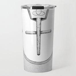 """Nazarene """"ن"""" Travel Mug"""