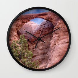 Shakespeare Arch Wall Clock