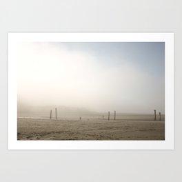 Foggy's Art Print