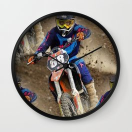 """"""" Eyeing The Prize """" Wall Clock"""