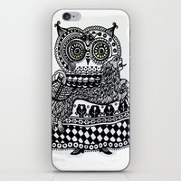 celtic iPhone & iPod Skins featuring Celtic owl by oxana zaika