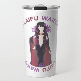 Waifu Laifu Anime Inspired Shirt Travel Mug