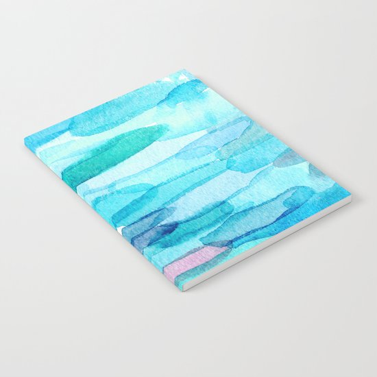 Watercolor folk  Notebook