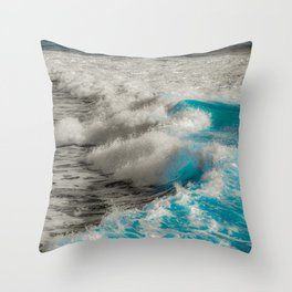 troubled waters Throw Pillow