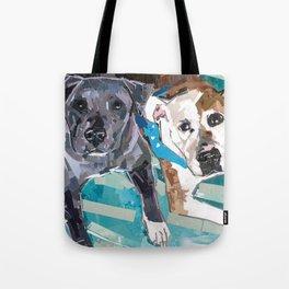 Chickie and Vinnie Tote Bag