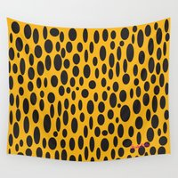 cheetah Wall Tapestries featuring Cheetah by Tim Breitzmann