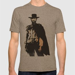 """""""The Man With No Name"""" is a Badass T-shirt"""