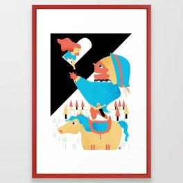 PRINCE CHARMING Framed Art Print