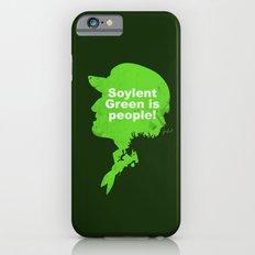 Soylent Green – Silhouette Quote Slim Case iPhone 6s