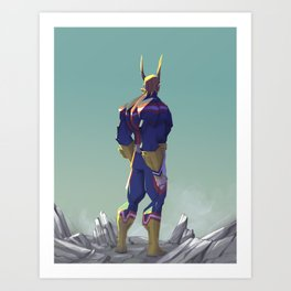 All might! Art Print