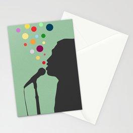Underwater Sound Stationery Cards