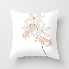 Enkianthus Flower Throw Pillow