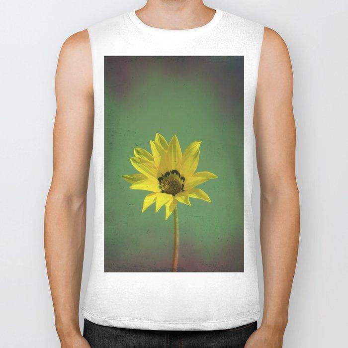 The yellow flower of my old friend Biker Tank