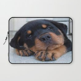 Riley  🐾  The Rottweiler Puppy  🐾 Laptop Sleeve