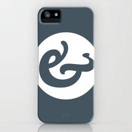 Ampersand Series - #1 iPhone Case