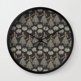 Hula Girls Wall Clock