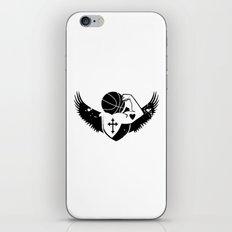 Faith Strength Heart Basketball iPhone & iPod Skin