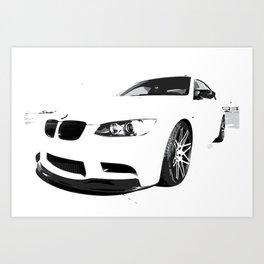 German Muscle Car 2013 Art Print