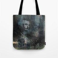 dark souls Tote Bags featuring Dark Souls by Lil'h