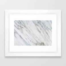 Carrara Italian Marble Framed Art Print
