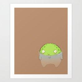 Swamp Toad Art Print
