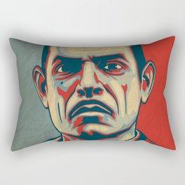 "Andrew Ryan ""Hope"" Poster (vintage) Rectangular Pillow"