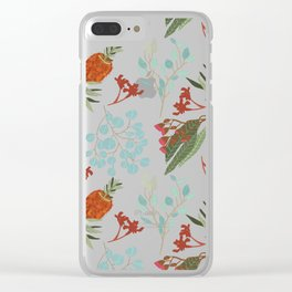 Australian Botanicals - Black Clear iPhone Case