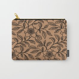 Butterum Lace Floral Carry-All Pouch