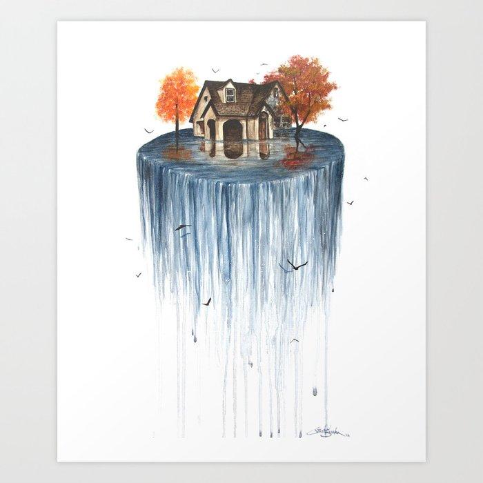 The Flood Kunstdrucke