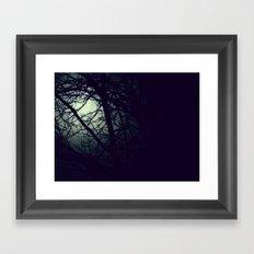 Through the Night Framed Art Print